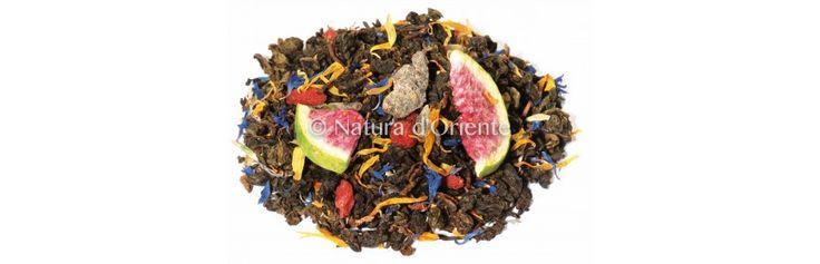 Té Oolong Aromatizzato alla frutta! Fruit flavoured oolong tea