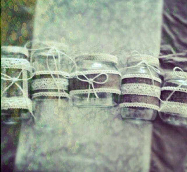 Jars, handmade with love! DIY