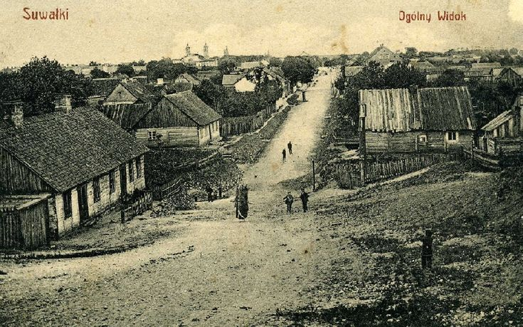 "Suwalki ""Ogolny Widok"" (General View) Not mailed, ca 1910"
