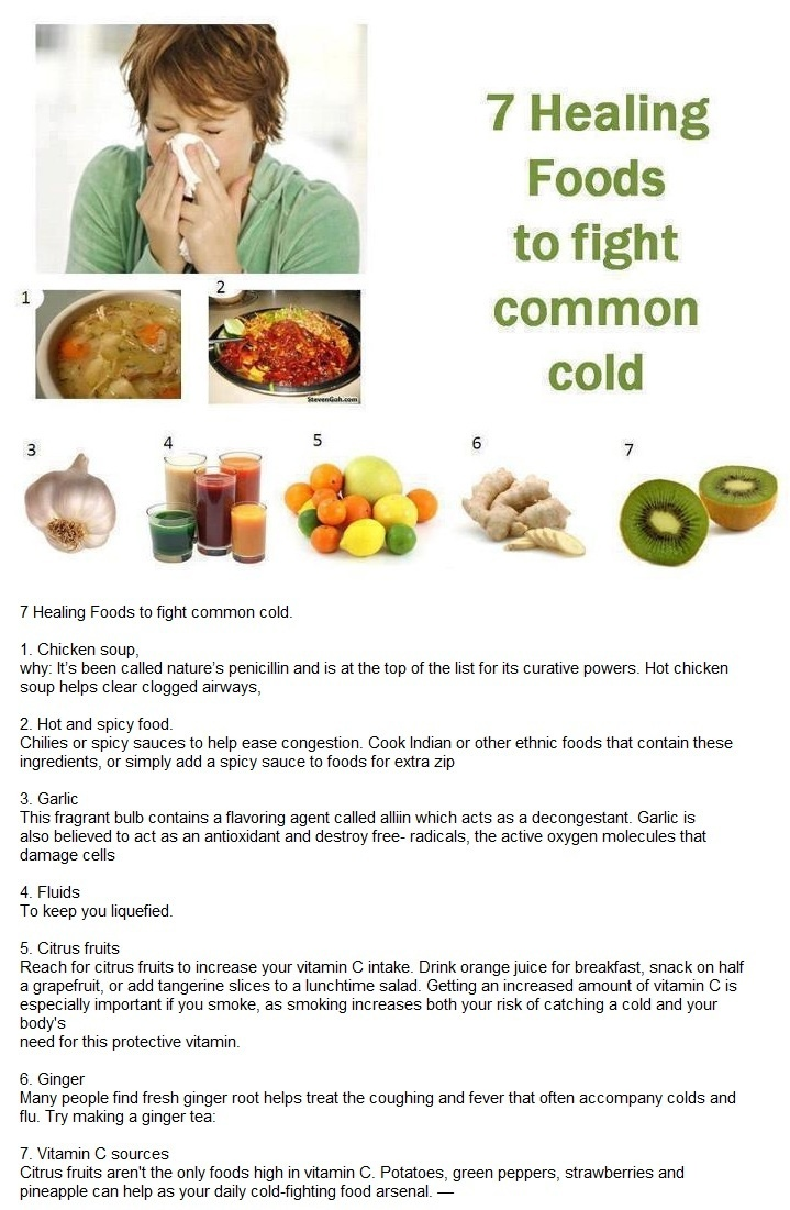 29 best health tips images on pinterest cold remedies health 7 healing foods to fight common cold httpfiveremediesinfections ccuart Image collections