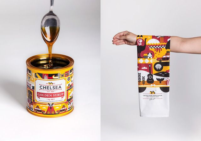 Chelsea Golden Syrup on Packaging of the World - Creative Package Design Gallery