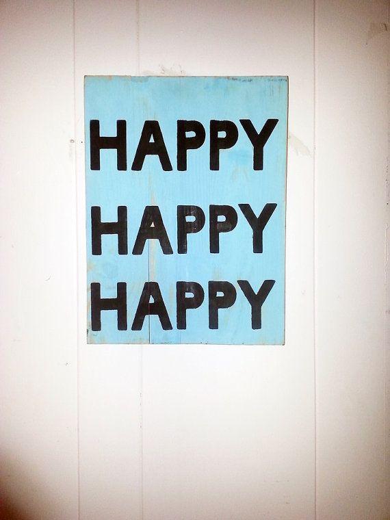 Happy Happy Happy Duck Commander Dynasty wood Sign by kpdreams, $25.00