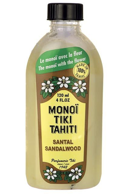 "Monoi Tiki Tahiti Santal Sandalwood Coconut Oil""An all-in-one moisturizer that is basically a vacation in a bottle!"" #refinery29 http://www.refinery29.com/expensive-beauty-products-editor-picks#slide-22"