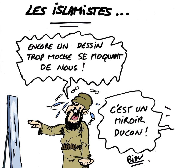 #Bidu #satire #parodie #islamisme #terrorisme #CharlieHebdo