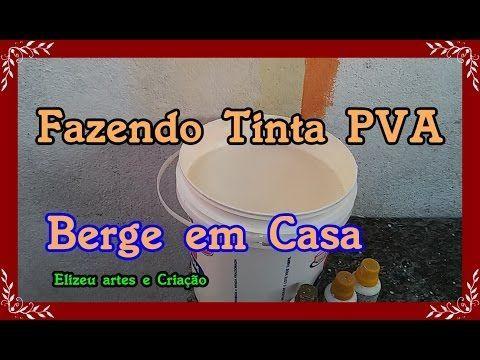 PINTE SUA CASA POR MENOS DE 10 REAIS. TINTA CASEIRA. RECEITA TOP - YouTube