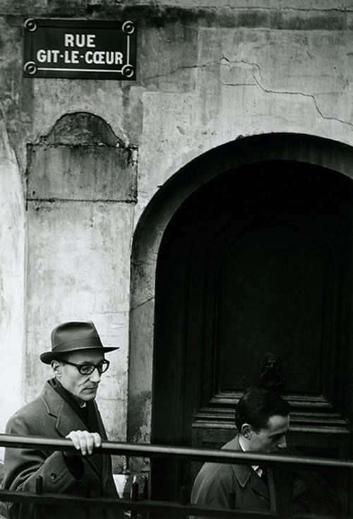 William Burroughs in Paris, October 1959, by Brion Gysin.