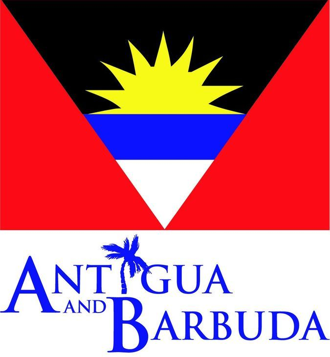 Antigua and Barbuda Island flag   Антигуа и Барбуда, Antigua i Barbuda , Остров ...