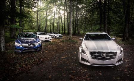 2014 Cadillac CTS 3.6 vs. 2014 Audi A6 3.0T, 2014 BMW 535i xDrive, 2014 Mercedes-Benz E350 - Comparison Tests