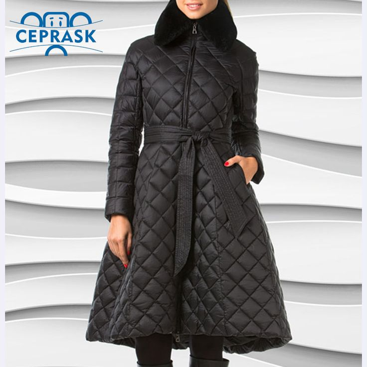 Ceprask 2016 High Quality women's winter coats Plus Size Long female jacket Slim Belt fashion Warm Parka camperas casaco Jetzt bestellen unter: https://mode.ladendirekt.de/damen/bekleidung/jacken/winterjacken/?uid=5a8e2a11-2962-5007-b9dc-6a5db7ab6360&utm_source=pinterest&utm_medium=pin&utm_campaign=boards #winterjacken #bekleidung #jacken