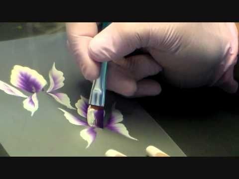 Hallo ihr Süßen...hier kommt das versprochene Lilienvideo...viiiieeeel Spaß beim Nachmalen