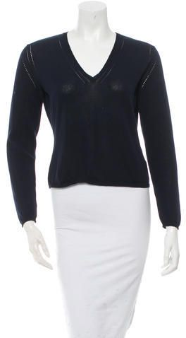 Bally V-Neck Sweater