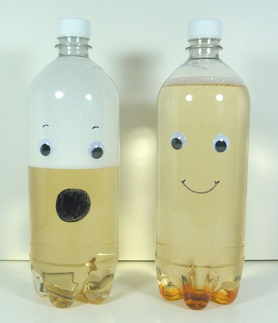 Good News Club idea.. Object lesson on Psalm 23. Calming the water...