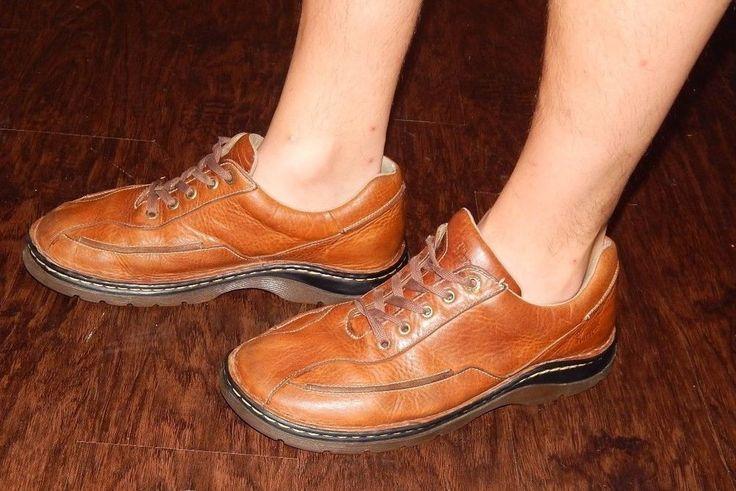 Doc Dr. Martens Mens Brown Leather Oxford Shoe Size US 11  #DrMartens #Oxfords