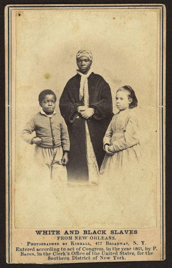 "Historic Photographs Of ""White"" Slaves"