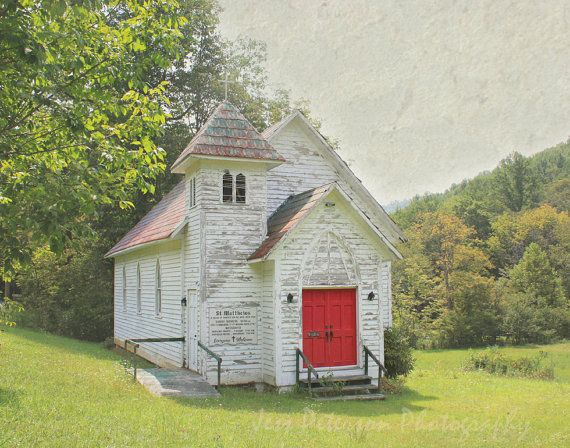 Old White Church Photography St Matthews by JessPetersonPhotos