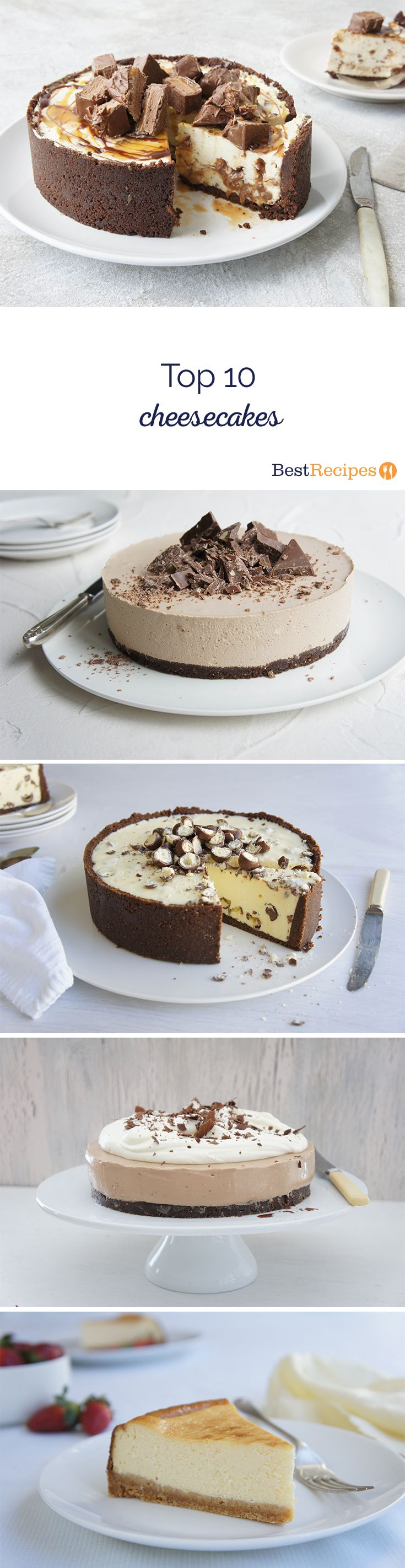 Top 10 Cheesecakes