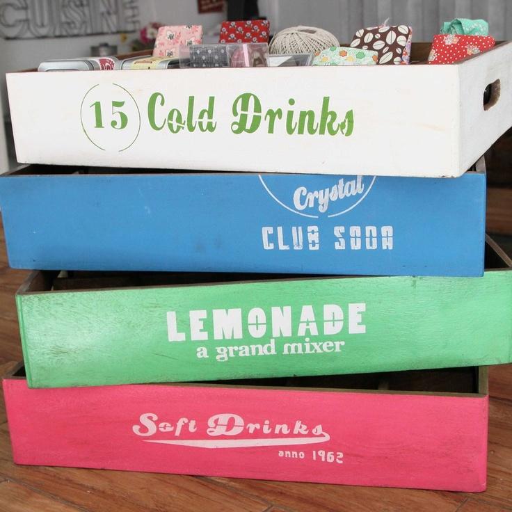 Image of Cajas de madera Lemonade: Madera Lemonade, Caja De Madera, Colors, Resolv Shorts, Image, Products