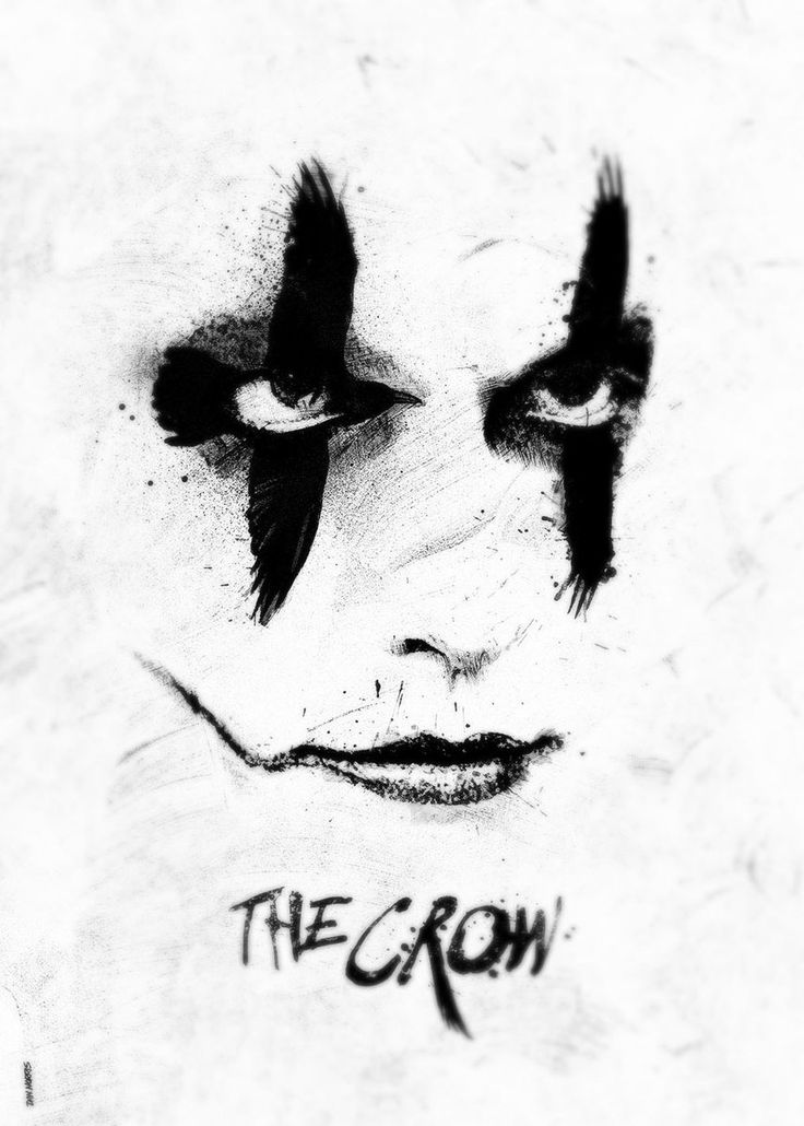 "kogaionon: ""The Crow by Daniel Norris / Behance / Tumblr / Twitter / Instagram / Store """