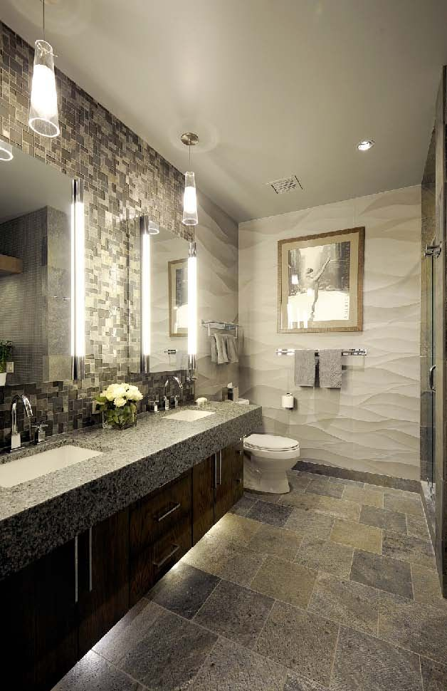 299 best Beautiful Bathrooms images on Pinterest Artistic tile