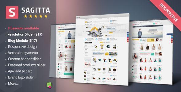 Sagitta - Mega Store Responsive PrestashopTheme