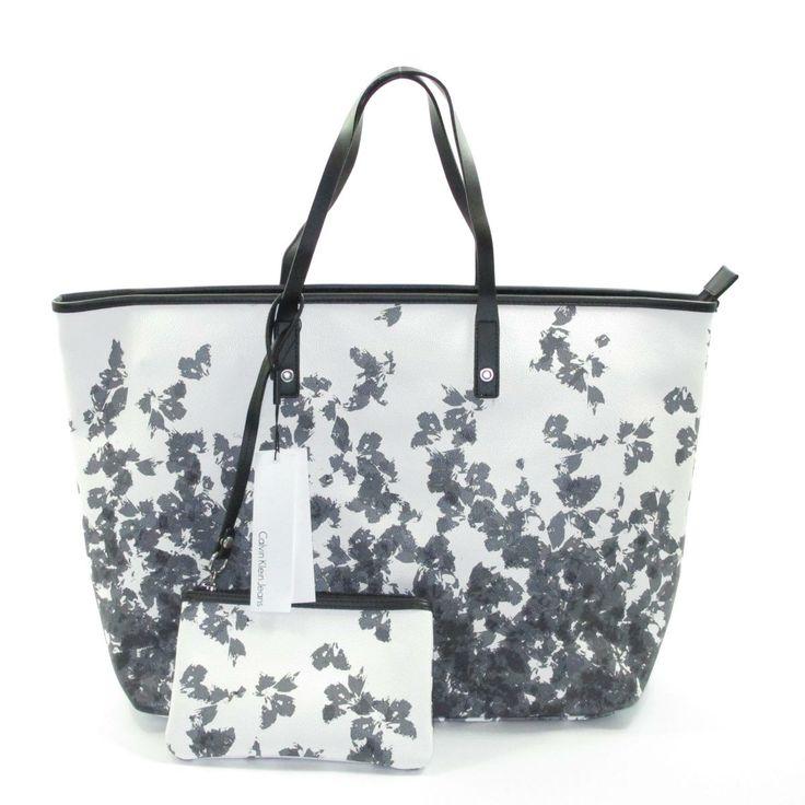 Borsa Calvin Klein con fiori