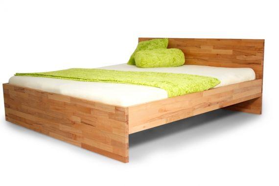 ROSINA Massivholzbett / Einzelbett / Doppelbett 200 x 200 | Buche geölt DETAIL_IMAGE