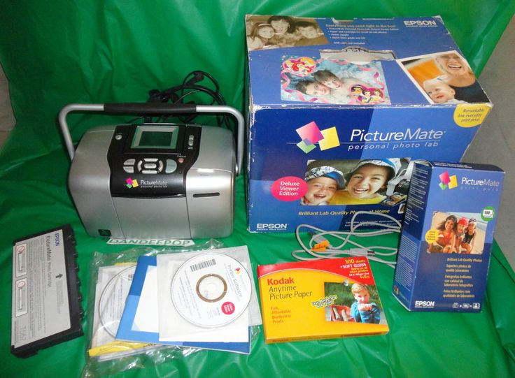 Epson PictureMate 500 Digital Photo Printer Personal Photo Lab B351A find me at www.dandeepop.com