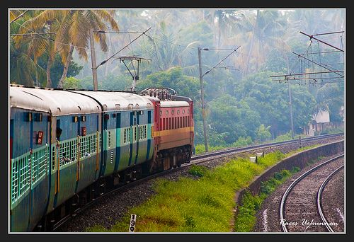 Train Ride - from Calicut to Trivandrum by www.worldofraees.com, via Flickr