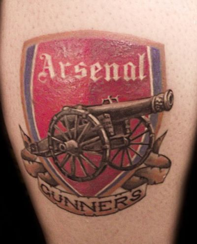 Arsenal FC tattoos