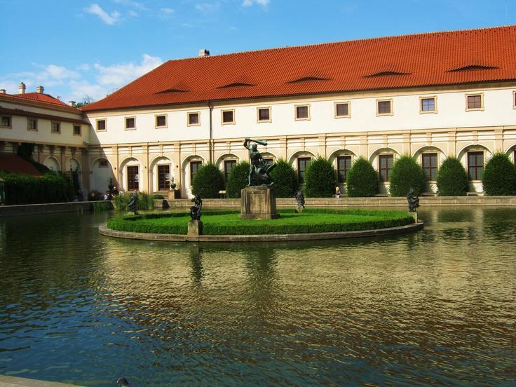 Wallenstein Castle and Gardens, Prague, Czech Republic