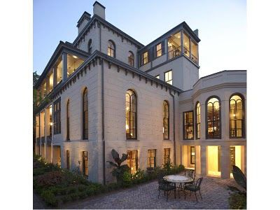 Southern Chateau Sumptuous Historic Home For Sale In Savannah