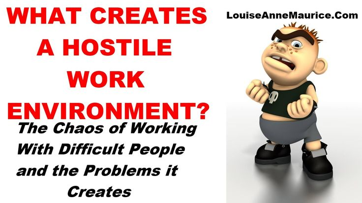 What Creates A Hostile Work Environment? - YouTube