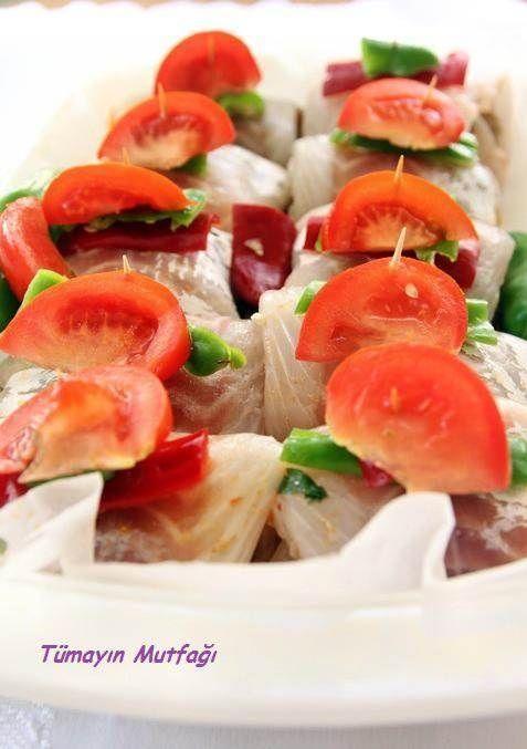 Mantarlı Levrek Fileto Sarma | Tümayın Mutfağı - En İyi Yemek Tarifleri Sitesi
