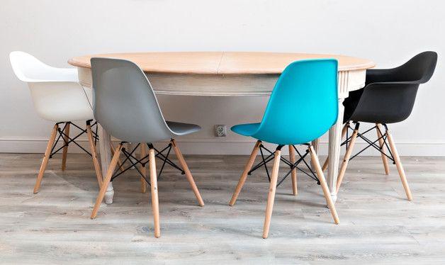 Krzesło insp. DSW - Szare - Antresola - GaleriaAntresola - Krzesła