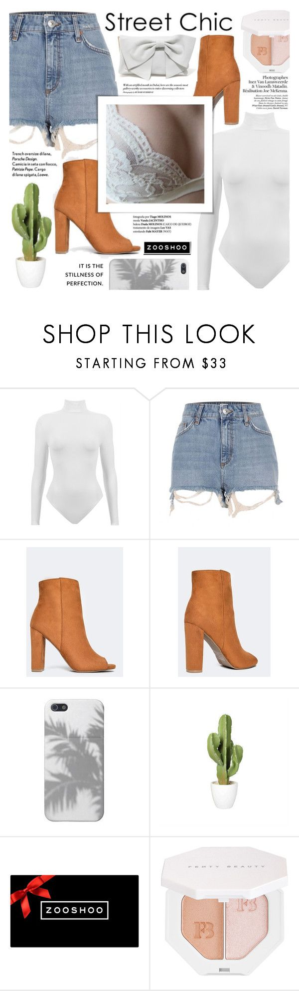 """""""Tan Boots"""" by soygabbie ❤ liked on Polyvore featuring River Island, Amica and Puma"""