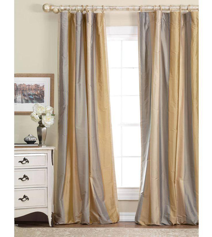 25+ Best Ideas About Silk Curtains On Pinterest