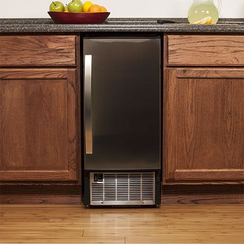 EdgeStar 45 Lb. Undercounter Clear Ice Maker - Stainless Steel Secondary Image