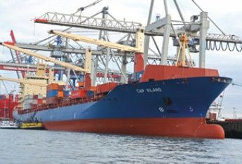 --Cap Vilano     ----Details    Typ:ContainerschiffCallsign:C4NQ2 Baujahr:2006IMO Nr.:93311787 Flagge:Zypern      Nominale Kapazität:2.741 TEU Kapazität:2.115 TEU bei 14t Kühlcontainer-Anschlüsse:400