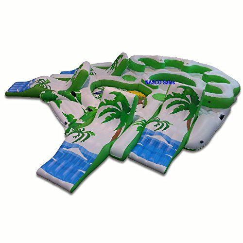 Party Island Beach: Inflatable Party Raft Havasu Party Island Giant Float Raft
