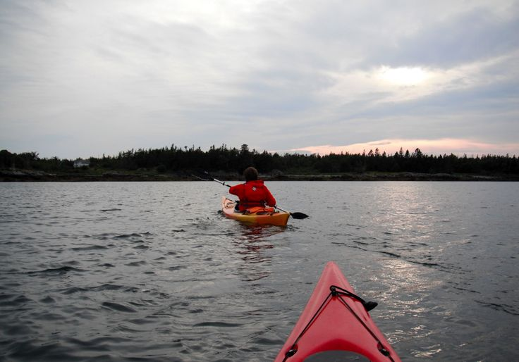 Kayaking, Grand Manan