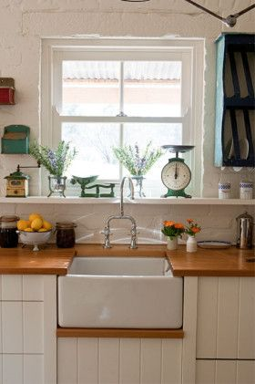 Sink idea for country kitchen..