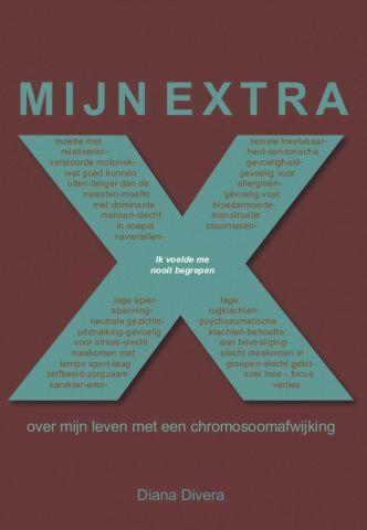 Voorzijde van het boek 'Mijn extra X'