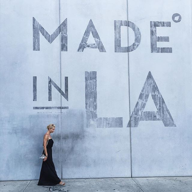 #madeinla #instagrammable #wall #inla