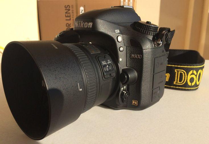 Nikon D600 + Nikkor 50mm f1.8g