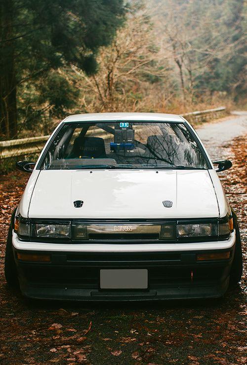 レビン 86 Corolla Levin. #JDMLegends