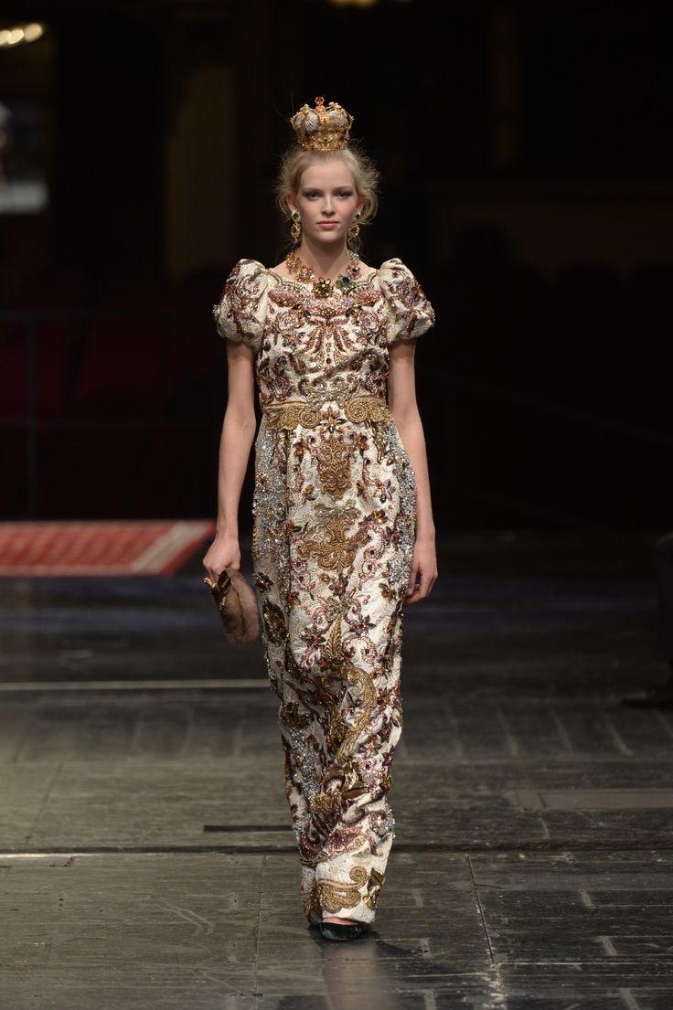 Défilé Dolce & Gabbana Alta Moda Haute Couture printemps-été 2016 81
