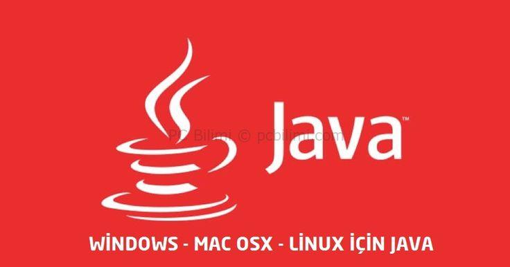 Devamı İçin:  https://www.pcbilimi.com/java-guncelleme/  güncel java, güncelleme, indir, java, java indir, java yükle, Linux Java, Mac OS X java, oracle, Windows 10, Windows java   Bilgisayar