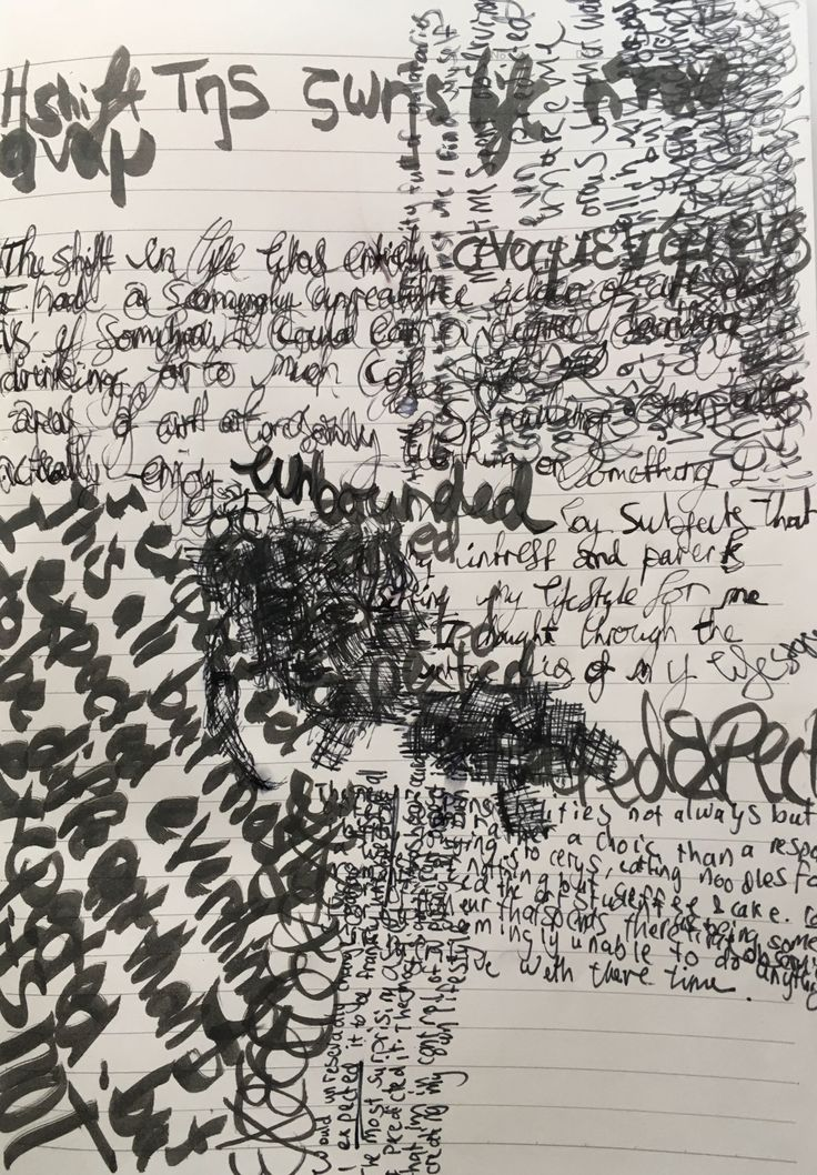Concrete Poetry ‹ Breahn's Art Lab Workbook — WordPress.com