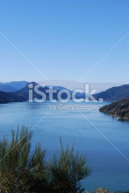 Kenepuru Sound, Marlborough Sounds Royalty Free Stock Photo