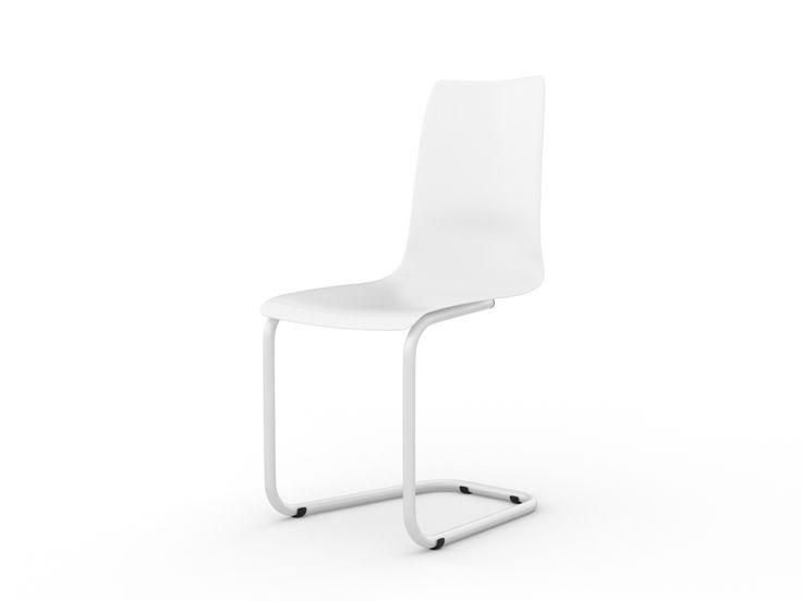 Tojo Stuhl - ist ein Freischwinger mit austauschbarer Sitzschale. Der Stuhl ist zerlegbar und kann dadurch platzsparend transportiert und versandt werden. Einfache Montage der Sitzschale. Tojo stuhl gewährleistet sicheres und bequemes Sitzen, trotz dünnem filigranen Gestell, passend zur dünnen Sitzschale.